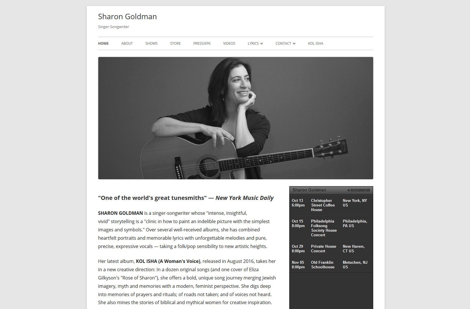 sharongoldmanmusic.com - 01