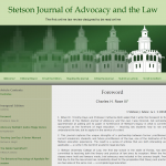 stetson.edu advocacy journal