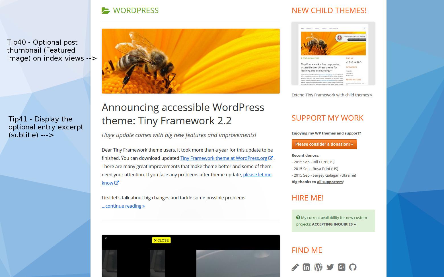 Tiny Framework - Tip40 and Tip41