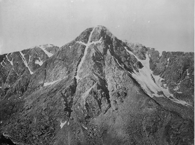 Mountain of the Holy Cross, Colorado - NARA - 517691